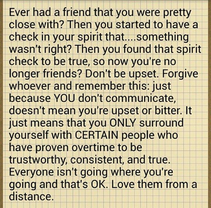 Pinterest: @YajixA. Friend check! Disloyal friends: Love them from a distance