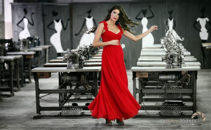 dress by Gabriela Olar