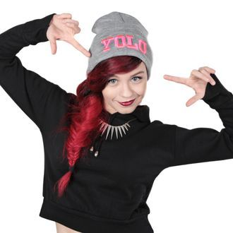 YOLO! This beanie is must have! So cool and fits with everything!
