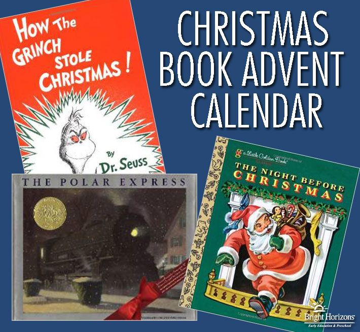 Family Holiday Tradition: Create a Christmas book advent calendar with 25 books for children who love reading!