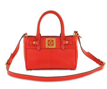 Desa Red Leather Small Bag