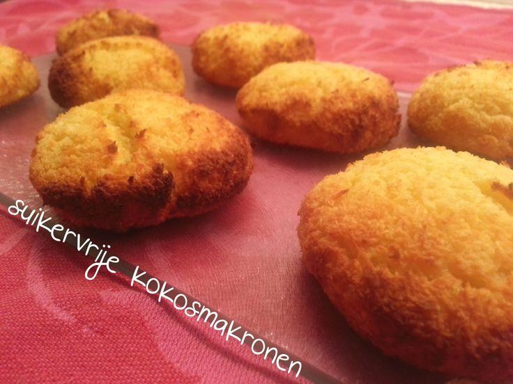 Kokosmakronen van de bakker of supermarkt zijn heerlijk maar wel mierzoet. Ik ben zelf aan de slag gegaan in de keuken en heb suikervrije kokosmakronen gemaakt. Ze zijn heerlijk en super simpel om ...
