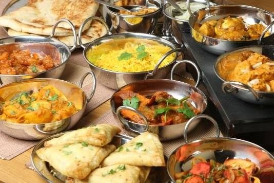 Dining Table With Food indian dining etiquette: it is expected that one should not leave
