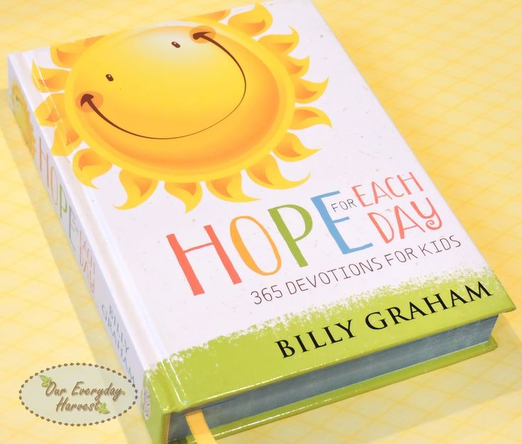 I truly believe every child needs a really good devotional to read as they take their journey in learning the word of God. Bill Graham's children's edition of Hope for Each Day is one that I can wholeheartedly recommend to parents who are... #giveaway! #kidmin #devotional #kidlit #win #review @tommynelson