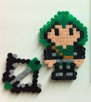 Iman Arrow. Hama beads Mini.