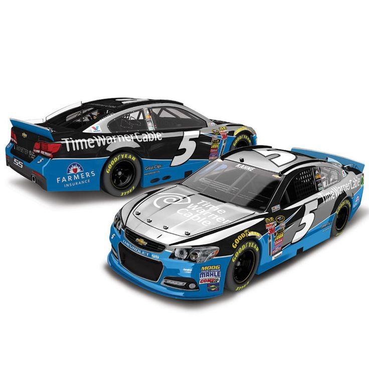 Kasey Kahne Action Racing 2015 #5 Time Warner Cable 1:24 Scale Color Chrome Die-Cast Chevrolet SS