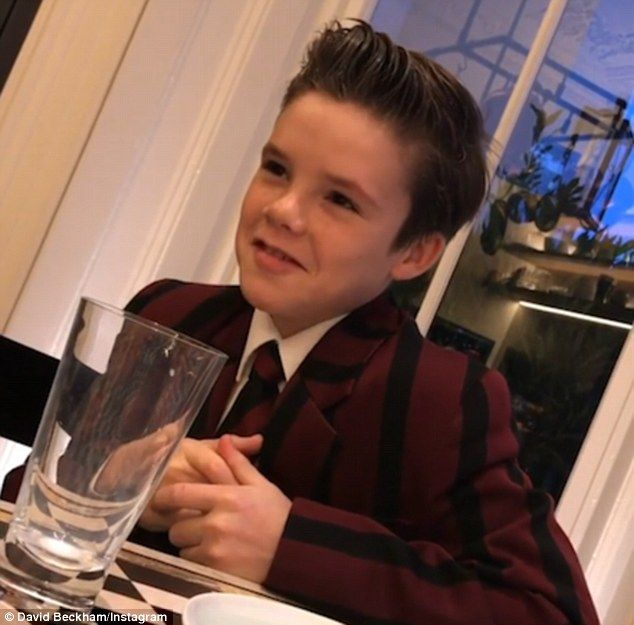 Tuning in! In a video uploaded by his father David Beckham on Wednesday morning, Cruz Beckham was seen listening to his debut single, If Everyday Was Christmas, play on the radio