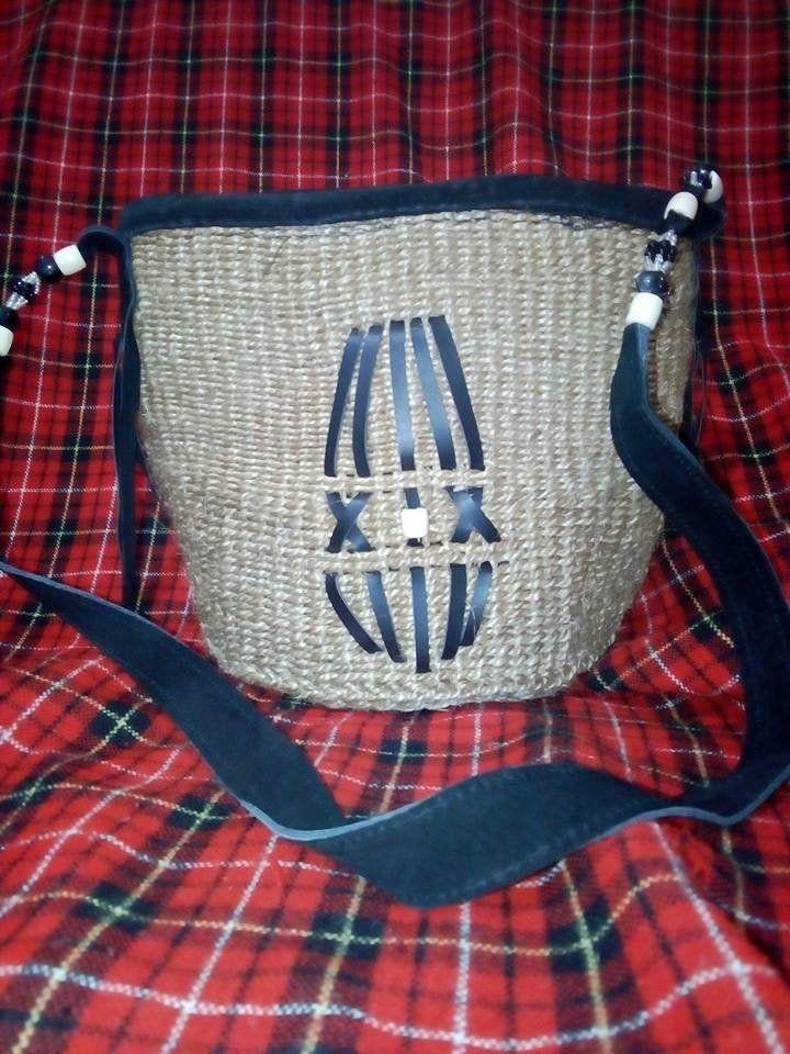 KIKAPU,African Kiondo Sisal-Knitting Thread Handmade Weaved Basket Bag,Kiondo,Kyondo Sisal Bag Africa-Kenya-Masai-Traditional-Hand woven