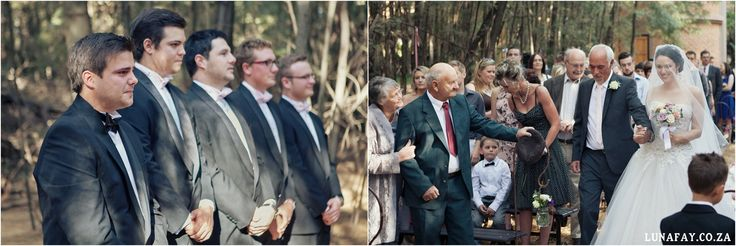 Wedding Photography Walking down the aisle  www.lunafay.co.za