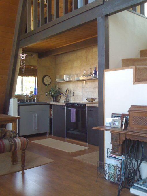 Best 25 a frame house plans ideas on pinterest a frame cabin plans a frame house and a frame for A frame house kitchen design