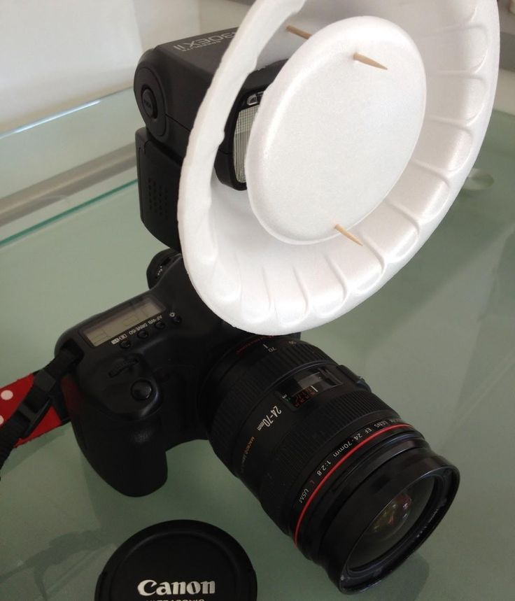 How to Turn a Styrofoam Bowl into a DIY Beauty Dish for Your Camera's Flash « Photography