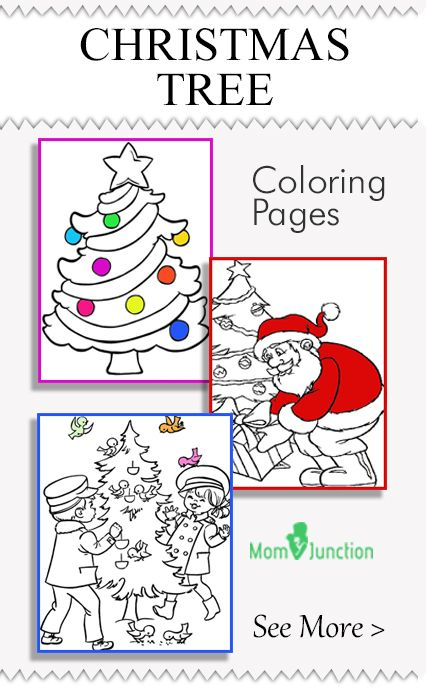39 best Activities - Colouring Pages images on Pinterest Coloring - best of coloring pages for a christmas tree