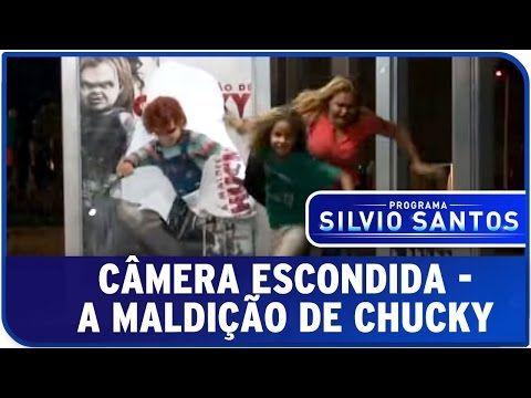 A Maldição de Chucky - Susto no ponto de ônibus - Câmera Escondida Programa Silvio Santos - YouTube