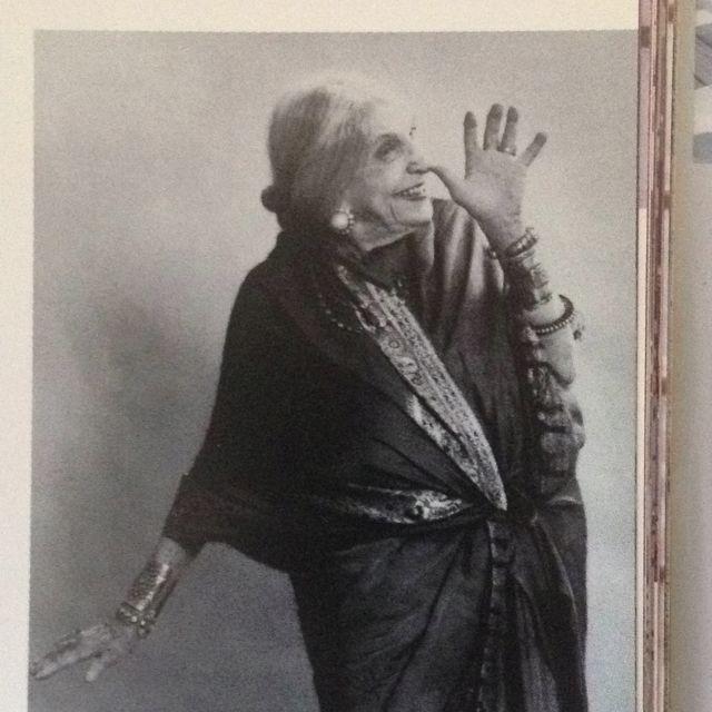 Beatrice Wood on her 100th birthday