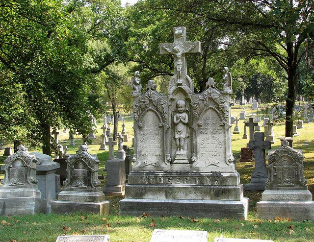 Calvary Cemetery St Louis Tours