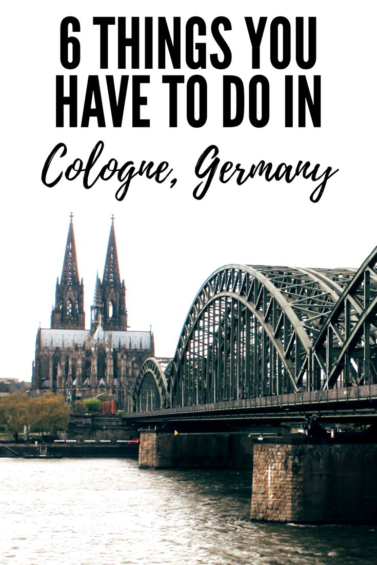6 things to do in Cologne