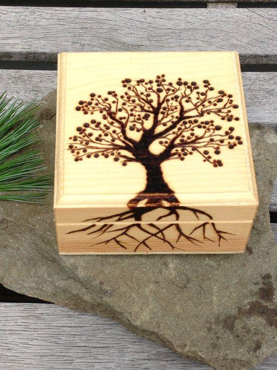 Wooden Box Decorating Ideas Burn