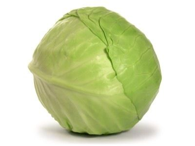 Cabbage in small doses.