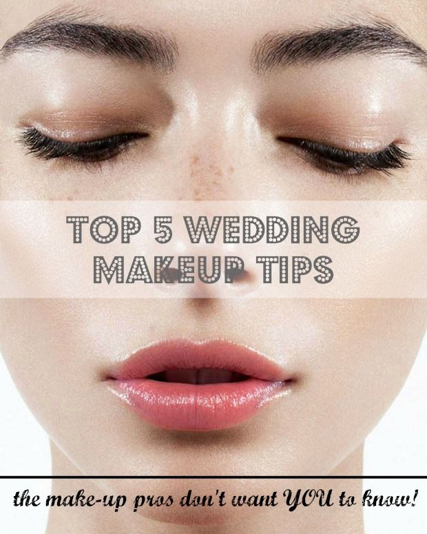 Top 5 wedding makeup tips (the pros don't want you to know!) see more at http://www.wantthatwedding.co.uk/2015/01/12/top-5-wedding-makeup-tips-pros-dont-want-know/