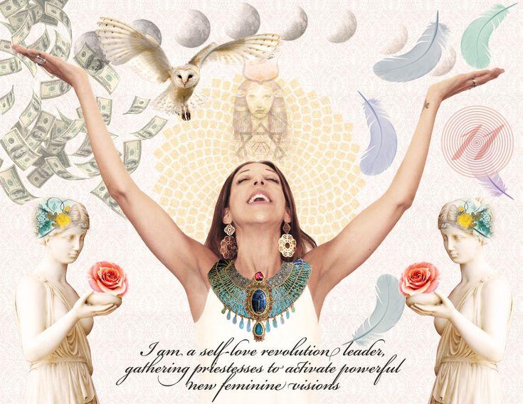 "Marin Bach-Antonson. Caoch for women at ""Rise Up Goddess"". www.riseupgoddess.com"