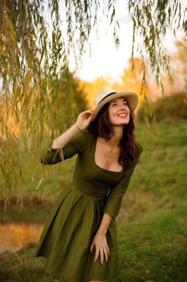 beautiful green dress // summer dress //