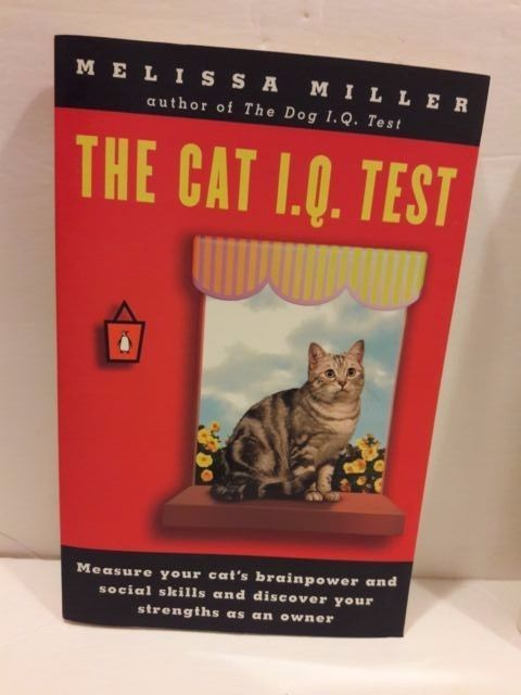 The Cat I.Q. Test Melissa Miller 1996 English Free Shipping
