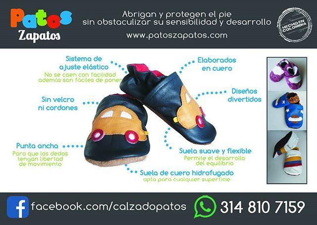 Zapatos para bebés con suela blanda #hechoencolombia