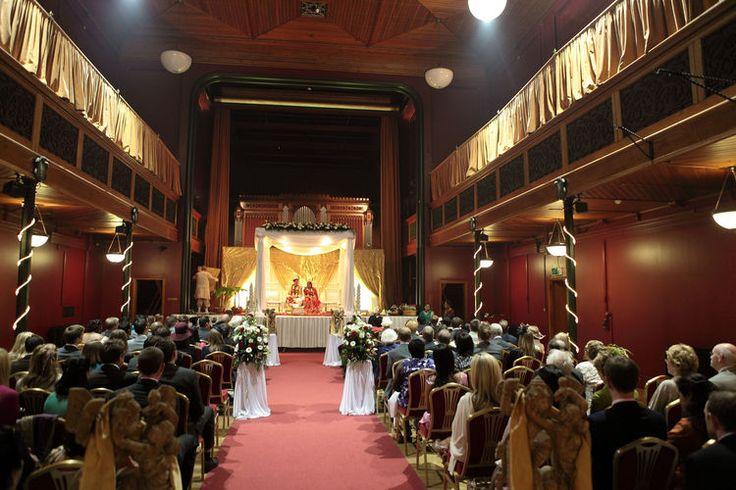 Indian wedding ceremony at Salomons