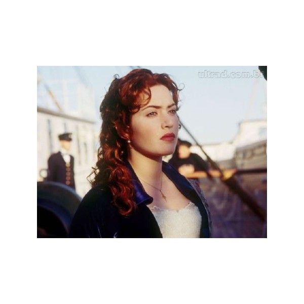 Kate Winslet As Rose DeWitt Bukater In Titanic (1997) Pic - Image of... ❤ liked on Polyvore featuring titanic, people, pictures, kate winslet and models