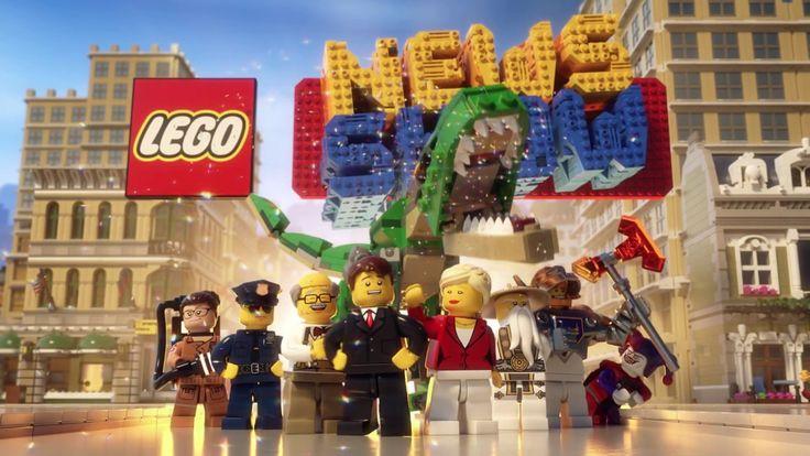 Sunucu Dan Brickman ile LEGO ''Haber Şovu'' 2017 Tanıtımı (Lego News Show) #lego