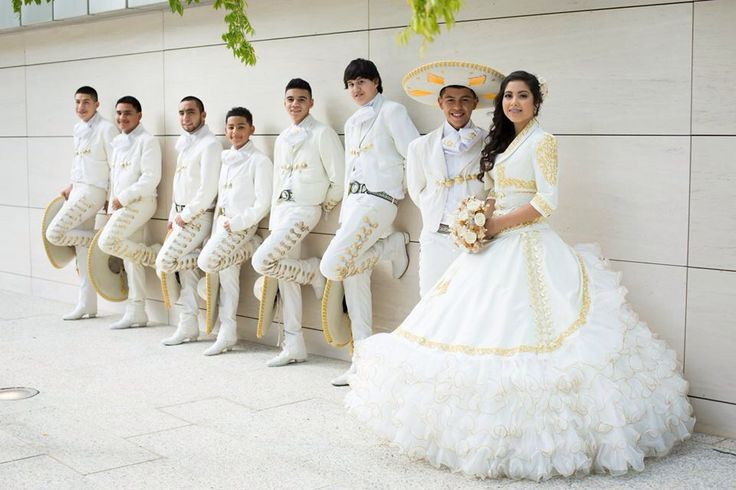 15 Anos Dresses From Mexico: My Quinceañera #LaGlitterQuinceDress#White&Gold