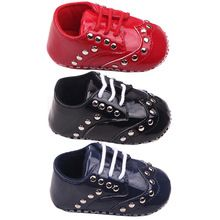 Like and Share if you want this  Baby Outdoor Rivet Punk Soft Button Crib Shoes Newborn Boy Girl Bright Shoes 0-12 M Xt8     Tag a friend who would love this!     FREE Shipping Worldwide     #BabyandMother #BabyClothing #BabyCare #BabyAccessories    Get it here ---> http://www.alikidsstore.com/products/baby-outdoor-rivet-punk-soft-button-crib-shoes-newborn-boy-girl-bright-shoes-0-12-m-xt8/