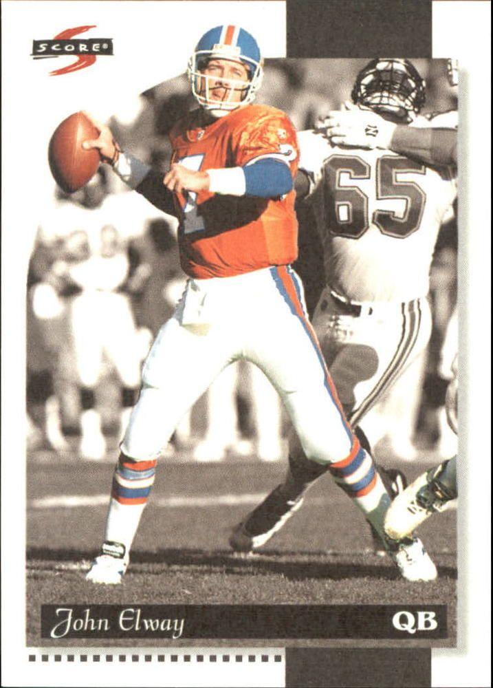 1996 (BRONCOS) Score Field Force #59 John Elway #Score #DenverBroncos