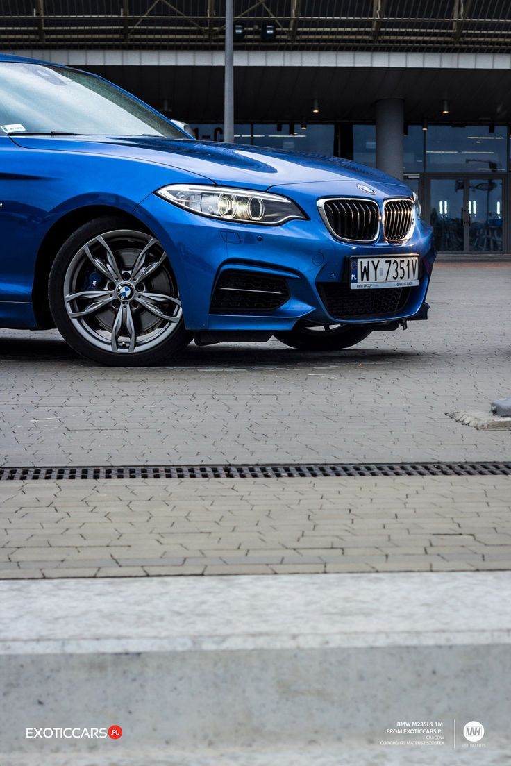 or BMW M235i Coupe? http://exoticcars.pl/testy/bmw-1-m-coupe-vs-m235i-coupe/