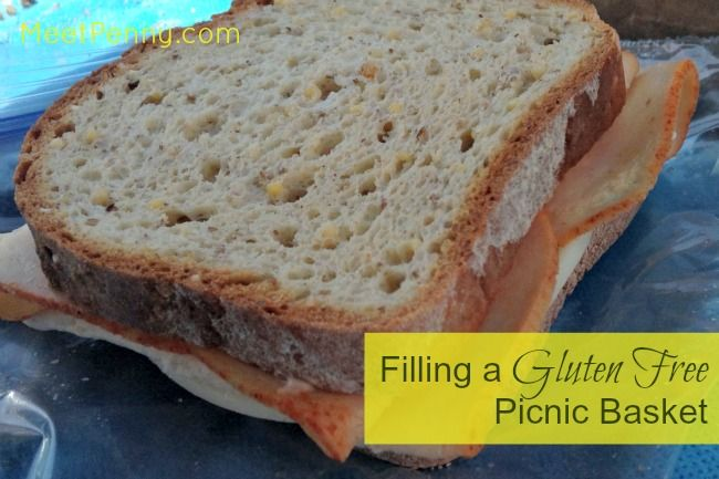 ideas for a gluten free picnic basket
