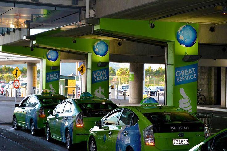 #GreenCabsNZ Wellington Airport Rank