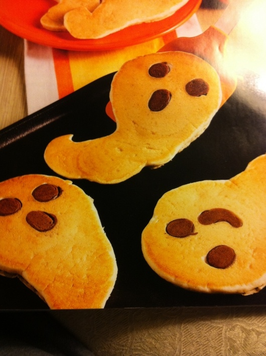 Don't just make pancakes...make Ghost Pancakes! I make these at least once in October lots of fun.