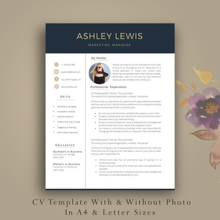 20 best Adulting images on Pinterest Cv template, Resume - resume template windows