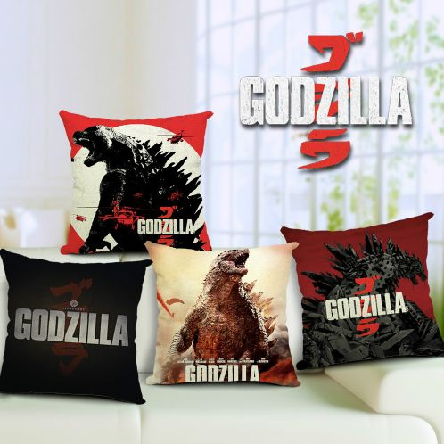 Godzilla Pillow Cover //Price: $14.95 & FREE Shipping //