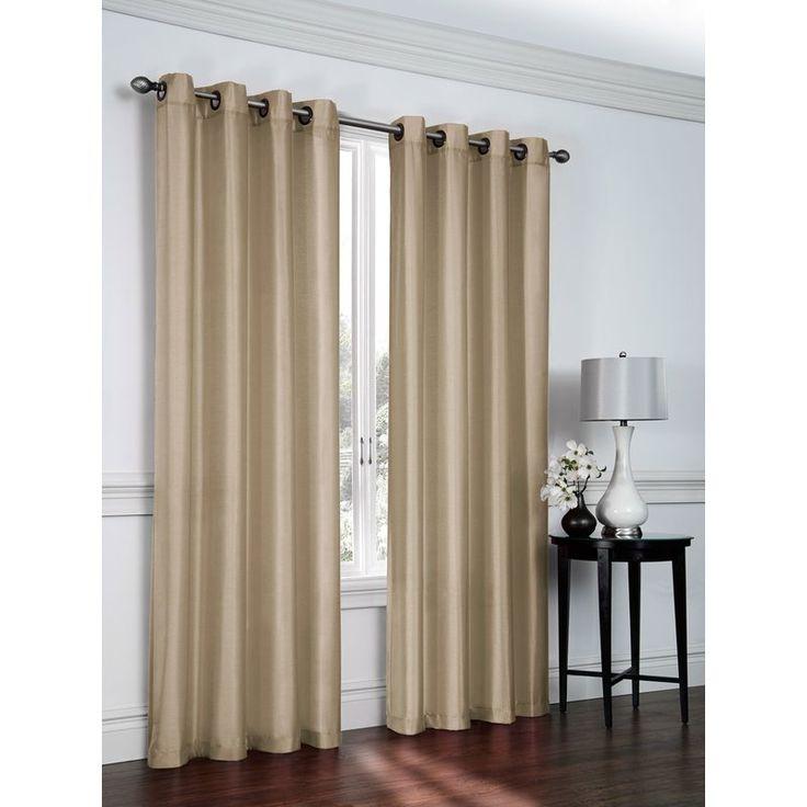 Belterra Solid Sheer Grommet Curtains