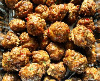 Spicy og saftige tapasboller