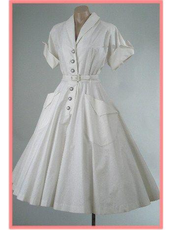 de 50 té blanco Longitud total del oscilación de la falda de la blusa del…
