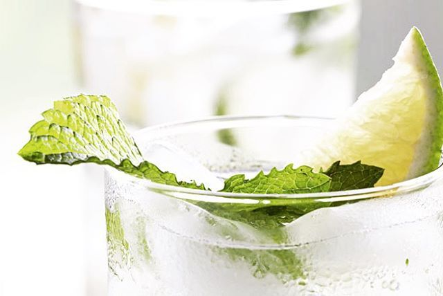 Keep your waistline in check with this drink idea over the weekend! 1oz. vodka 1/2 lemon 4 mint leaves 4oz. soda…