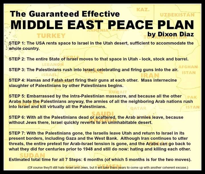 Dixon Diaz's Middle East Peace Plan #1
