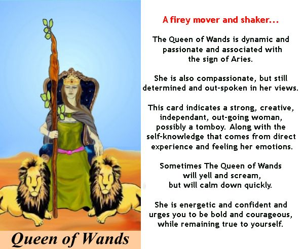 Happy 4th of July! Card of the week: Queen of Wands :-) What are you passionate about this week? PSST… Want these meanings in a handy book that includes spreads and also teaches you how to use the Tarot? My ebook: 'Easy Peasy Tarot Card Meanings' is THE resource for truth-seekers who don't have all day to figure out tomorrow! Learn more here: http://tarotromance.com/easy-peasy-tarot-card-meanings-the-ebook/