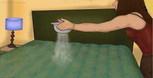 Sparge del bicarbonato sul materasso: quando saprete il motivo correrete a farlo anche voi!