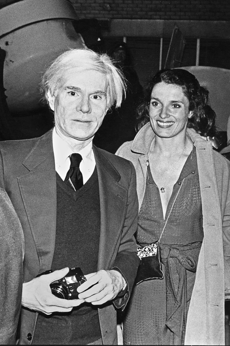 Andy Warhol and Margaret Trudeau, Studio 54, 1978