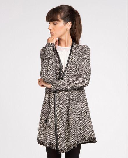 Cardigan-manteau   Pulls et cardigans   Comptoir des Cotonniers