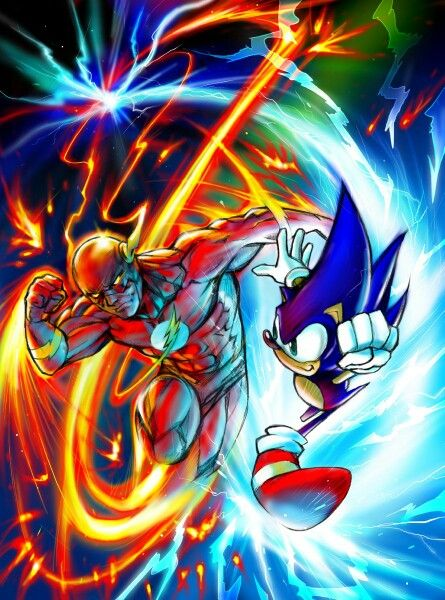 Flash Vs. Sonic