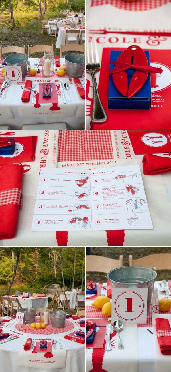 Best 25 Lobster Bake Party Ideas On Pinterest Lobster
